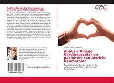 Portada del libro de Análisis Riesgo Cardiovascular en pacientes con Artritis Reumatoide