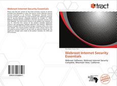 Bookcover of Webroot Internet Security Essentials