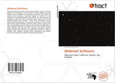 Bookcover of Webroot Software