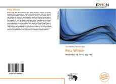 Couverture de Peta Wilson