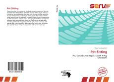 Bookcover of Pet Sitting