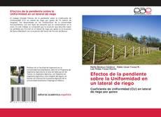 Bookcover of Efectos de la pendiente sobre la Uniformidad en un lateral de riego