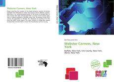 Copertina di Webster Corners, New York