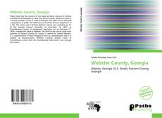 Bookcover of Webster County, Georgia