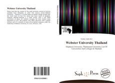 Portada del libro de Webster University Thailand
