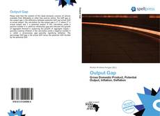 Bookcover of Output Gap