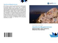 Couverture de Apollonia Mygdoniorum