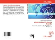 Outline of the Solomon Islands kitap kapağı