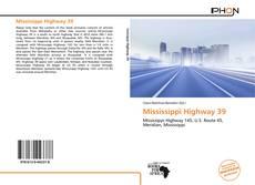 Borítókép a  Mississippi Highway 39 - hoz