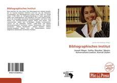 Bookcover of Bibliographisches Institut