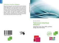 Buchcover von Television Interface Adaptor