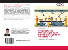 Portada del libro de Propuesta de metodología para diseño de layout en Industria 4.0