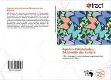 Borítókép a  Apolon-Kutateladse-Akademie der Künste - hoz