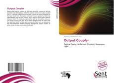 Output Coupler kitap kapağı