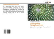 Buchcover von Aponogeton longiplumulosus