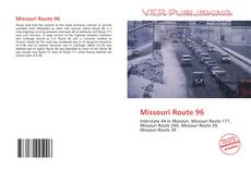 Обложка Missouri Route 96