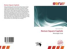 Couverture de Roman Square Capitals