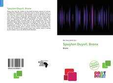 Bookcover of Spuyten Duyvil, Bronx