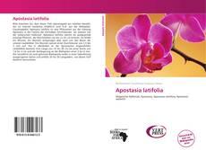 Apostasia latifolia kitap kapağı