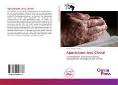 Couverture de Apostelamt Jesu Christi