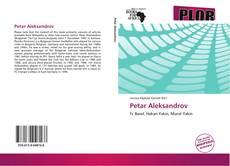 Petar Aleksandrov kitap kapağı