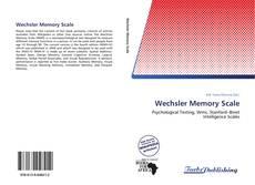Buchcover von Wechsler Memory Scale