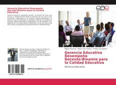 Portada del libro de Gerencia Educativa Desempeño Docente:Binomio para la Calidad Educativa