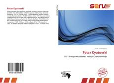 Bookcover of Petar Kyatovski