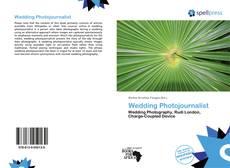 Portada del libro de Wedding Photojournalist