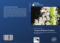 Bookcover of Virginia Robinson Gardens