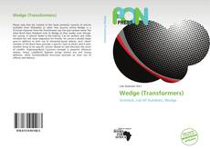 Buchcover von Wedge (Transformers)