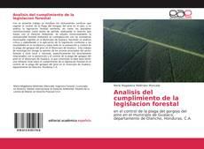 Portada del libro de Analisis del cumplimiento de la legislacion forestal