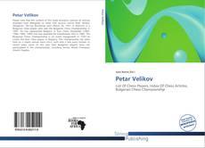 Petar Velikov kitap kapağı