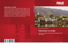 Bookcover of Television in India