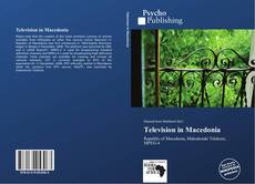 Bookcover of Television in Macedonia