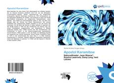 Bookcover of Apostol Karamitew