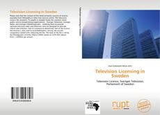 Capa do livro de Television Licensing in Sweden