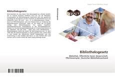 Bookcover of Bibliotheksgesetz