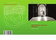 Buchcover von Apostolicae nostrae caritatis