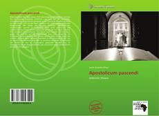 Bookcover of Apostolicum pascendi