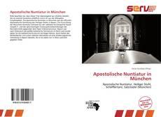 Apostolische Nuntiatur in München kitap kapağı