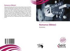 Portada del libro de Romance (Meter)