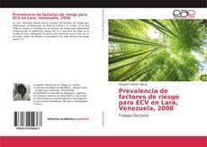 Portada del libro de Prevalencia de factores de riesgo para ECV en Lara, Venezuela, 2008