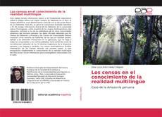 Capa do livro de Los censos en el conocimiento de la realidad multilingüe