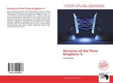 Couverture de Romance of the Three Kingdoms X