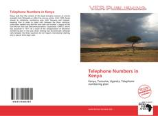Buchcover von Telephone Numbers in Kenya