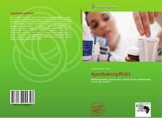 Buchcover von Apothekenpflicht