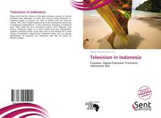 Bookcover of Television in Indonesia