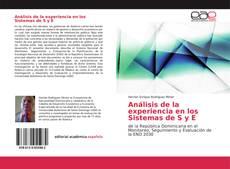 Copertina di Análisis de la experiencia en los Sistemas de S y E