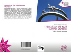 Bookcover of Romania at the 1928 Summer Olympics